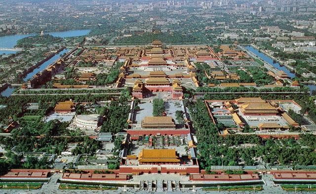 中国十大名胜古迹四北京故宫图片